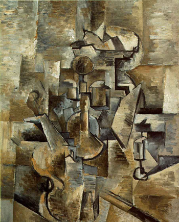 cubism writing Cubism - in quotes  cubists, to be objective, restrict themselves to considering things by turning around them, to produce their geometric writing.